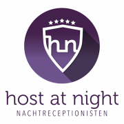 HOST at Night Nachtreceptionisten logo