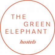 The Green Elephant Hostels logo
